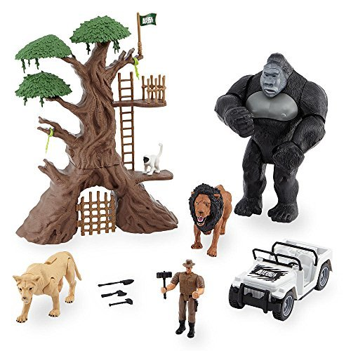 Animal-Planet-Lights-Sounds-Jungle-Encounter-Mega-Playset-with-Large-Gorilla-Figure