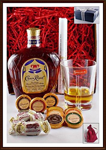 geschenk-set-crown-royal-mit-9-dreimeister-edel-schokoladen-4-edradour-whisky-fudge-whisky-glas-kost