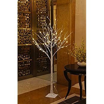 Lighted Birch Tree, 72 LED Lights