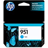 HP 951 Cyan Original Ink Cartridge (CN050AN)