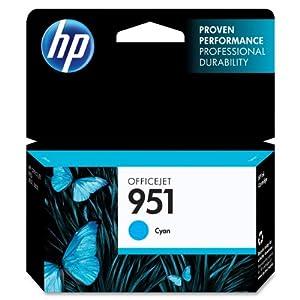 HP 951 (CN050AN) Cyan Original Ink Cartridge