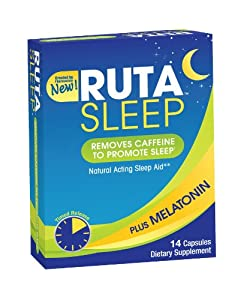 RUTA Natural Acting Sleep Aid, 12 Count