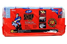 Scott Multi Purpose Shop Towels for Hands and Cleanup Jobs Pack of 10 Rolls