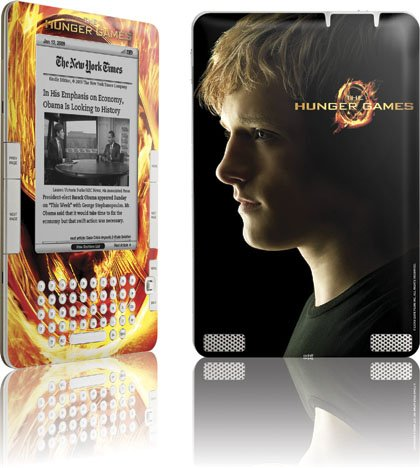 Skinit The Hunger Games -Peeta Mellark Vinyl Skin for Amazon Kindle 2