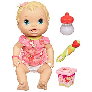 Amazon.com: Baby Alive Baby All Gone Doll, Blonde: Toys & Games