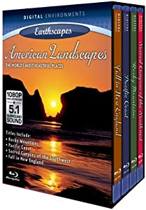 Living Landscapes: American Landscapes [Blu-ray]