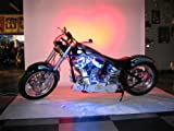 White LED Neon Motorcycle Lighting Kit