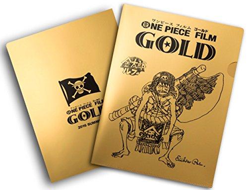 ONE PIECE FILM GOLD 前売り券(ムビチケカード)+特典(尾田栄一郎描き下ろし設定画入り金の金太郎ルフィクリアファイル)