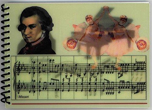 Spiralnotizblock-Wackelbild-BeethovenMozart-Schnes-Geschenk-fr-Musiker
