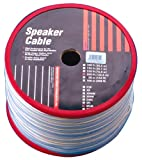 Monster Cable SFLM-500 SuperFlat Mini Navajo White Easy-to-Hide Speaker Cable 16 Gauge 500-Feet Spool