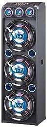 QFX SBX-412300BTBL Speaker with Built-In Amplifier Bluetooth - Blue
