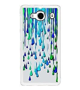 Colour Drops 2D Hard Polycarbonate Designer Back Case Cover for Xiaomi Redmi 2S :: Xiaomi Redmi 2 Prime :: Xiaomi Redmi 2