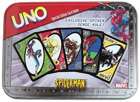 Uno - 8519 - Jeux De Cartes -  Uno Spiderman