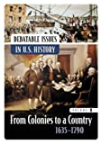 img - for Debatable Issues in U.S. History [5 volumes] (Middle School Reference) book / textbook / text book