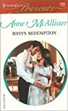 img - for Rhys's Redemption (Harlequin Presents, No. 2126) book / textbook / text book
