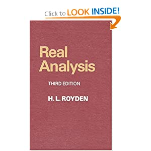 Real Analysis (3rd Edition)