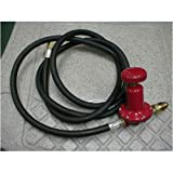 Cajun Cookware Adjustable Regulator With Hose