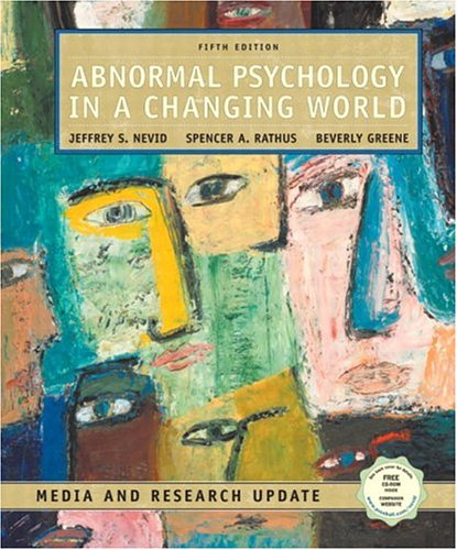 Abnormal Psychology in a Changing World: Media and Research Update