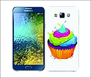 Galaxy Printed 1583 CUBIST POP ART SWEET Hard Cover for samsung E7