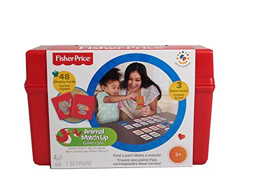 Fisher Price Animal Match up 48 Cards - 1