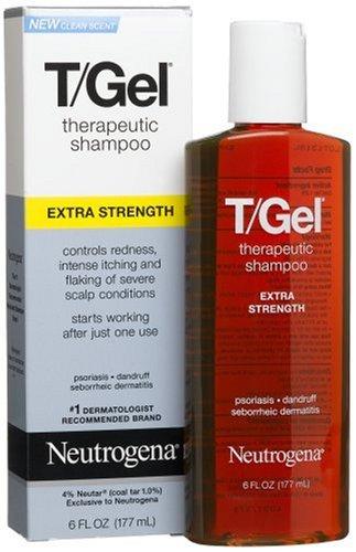 traitements psoriasis  Neutrogena TGel Shampooing thrapeutique Extra Strength onces