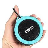 Bluetooth Speaker,gaosa Waterproof Shower Speaker ,Outdoor Portable Speaker with Suction Cup