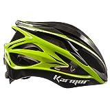KARMOR(カーマー) ASMA JCF公認 サイクリングヘルメット ブラック+ライトグリーン S/M