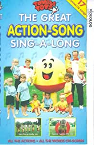 great action song singalong vhs tumble tots vid o. Black Bedroom Furniture Sets. Home Design Ideas