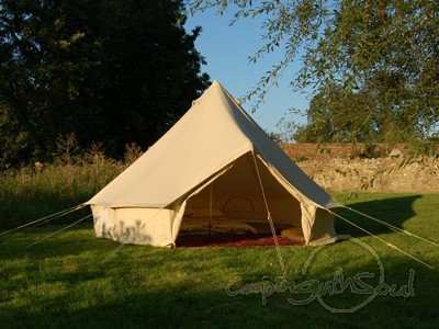 4m Bell Tent with Separate Groundsheet