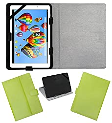 ACM LEATHER FLIP FLAP TABLET HOLDER CARRY CASE STAND COVER FOR DIGIFLIP PRO XT911 GREEN