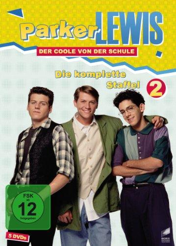 Parker Lewis - Der Coole von der Schule: Staffel 2 [5 DVDs]