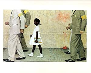 Norman Rockwell The Problem We All Live With 1964 Art Print - 7 in x 10 in - Unmatted, Unframed