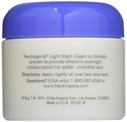 neutrogena light night cream ounce 11street malaysia men. Black Bedroom Furniture Sets. Home Design Ideas