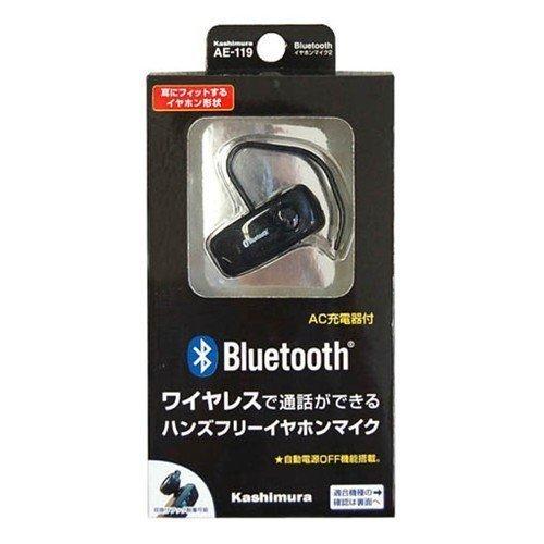 Bluetooth Earphone Microphone 2 Black Ae-119 (Japan Import)