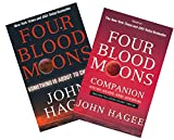 img - for Study Set of The Four Blood Moons Book & Study Guide - Four Blood Moons: Something is About to Change | Four Blood Moons Companion Study Guide and Journal: Includes Full-Color Foldout Timeline book / textbook / text book