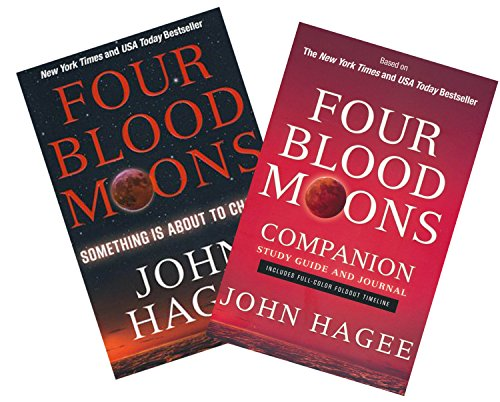 Study Set of The Four Blood Moons Book & Study Guide - Four Blood Moons: Something is About to Change | Four Blood Moons Companion Study Gu