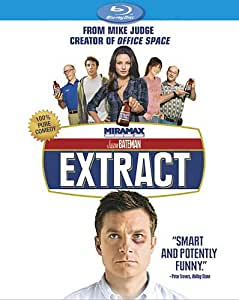 NEW Bateman/wiig/affleck/kunis - Extract (Blu-ray)