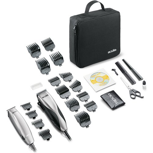 andis hair clippers trimmer combo kit shaver mustache. Black Bedroom Furniture Sets. Home Design Ideas