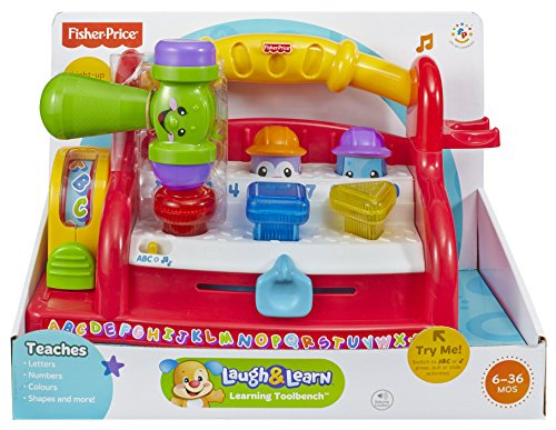 Fisher price laugh learn learning tool bench by fisher price fisher price toy store Fisher price tool bench