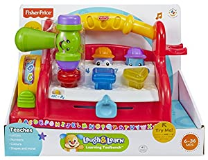 Fisher price laugh learn learning toolbench toys games Fisher price tool bench