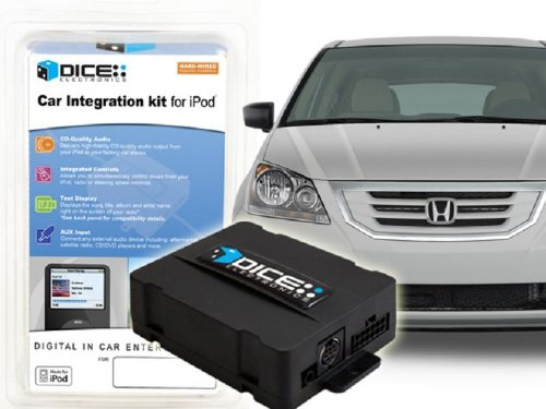 DICE i-Honda-R2-5v iPod Integration Kit for Acura (RSX, TL, TSX) and Honda (98+)