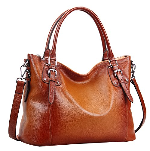 Heshe-Womens-Leather-Vintage-Handbags-Shoulder-Handbag-Tote-Top-Handle-Bag-Cross-Body-Bags-Satchel-for-Ladies-Large-Capacity