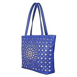 Glory Fashion Women's Stylish Handbag Blue BB-001-B00152