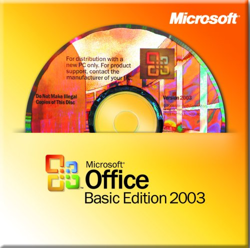 Microsoft Office Basic 2003 WIN32 for System Builders, 3 pack [Old Version] (Microsoft Office 3 Pack compare prices)