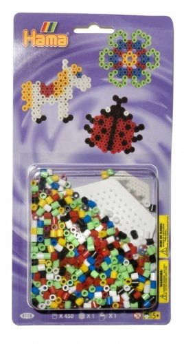 HAMA BEADS SMALL HEXAGON STARTER PACK GIFT CREATIVE ART BEAD BEADS SET
