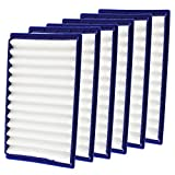 Spares2go Washable H Level Filters for Dyson DC02 Vacuum Cleaners (Blue, Pack of 6)