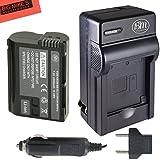BM Premium EN-EL15 Battery And Battery Charger For Nikon 1 V1 D500 D600 D610 D750 D800 D810 D810A D7000 D7100...