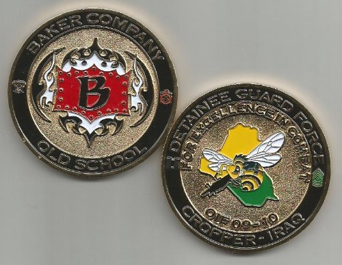 Baker Company Detainee Guard Force Camp Cropper-Iraq Challenge Coin