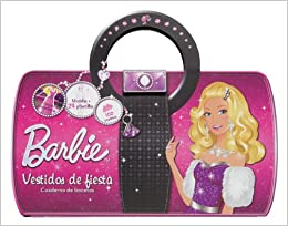 Barbie vestidos de fiesta / Barbie party dresses: Cuadernos de bocetos