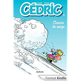 C�dric - tome 2 - CLASSES DE NEIGE